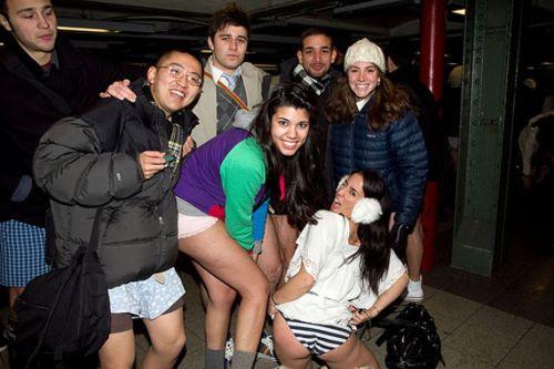 no pants subway 29 No pants subway ride 2012 (36 Photos)