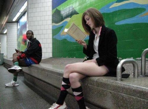 no pants subway 3 No pants subway ride 2012 (36 Photos)