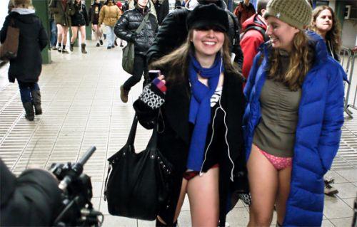 no pants subway 31 No pants subway ride 2012 (36 Photos)