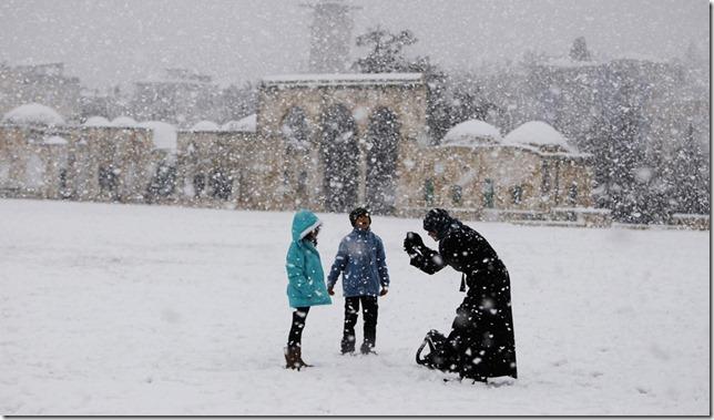 ISRAEL-SNOW/