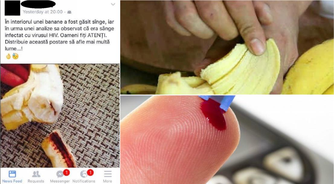 banane infectate cu hiv
